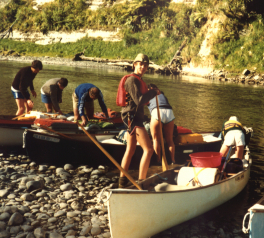 1984 Canoeing_on_the_Wanganui_River