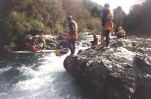 19930814 Kayaking_on_Outward_Bound